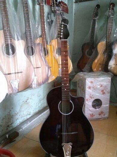 guitar thùng phím lõm 412