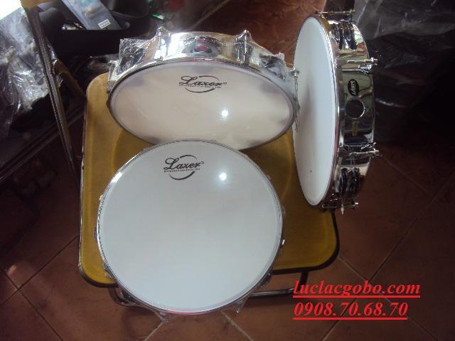 Trống gõ bo chơi nhạc chế, trống lục lạc, trống lắc tay, trống gõ bo, tambourine - 3