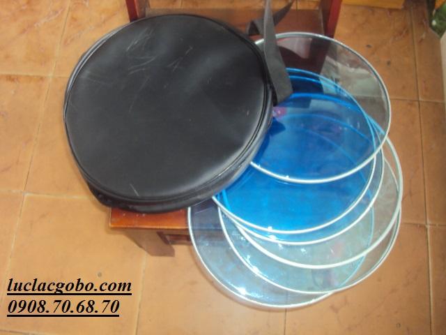 Trống gõ bo chơi nhạc chế, trống lục lạc, trống lắc tay, trống gõ bo, tambourine - 5