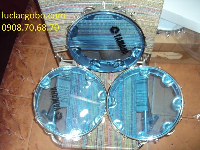 Trống gõ bo chơi nhạc chế, trống lục lạc, trống lắc tay, trống gõ bo, tambourine - 1